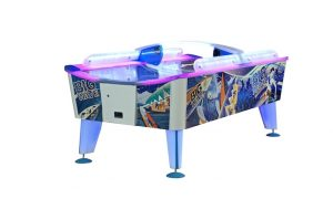 the big wave led air hockey