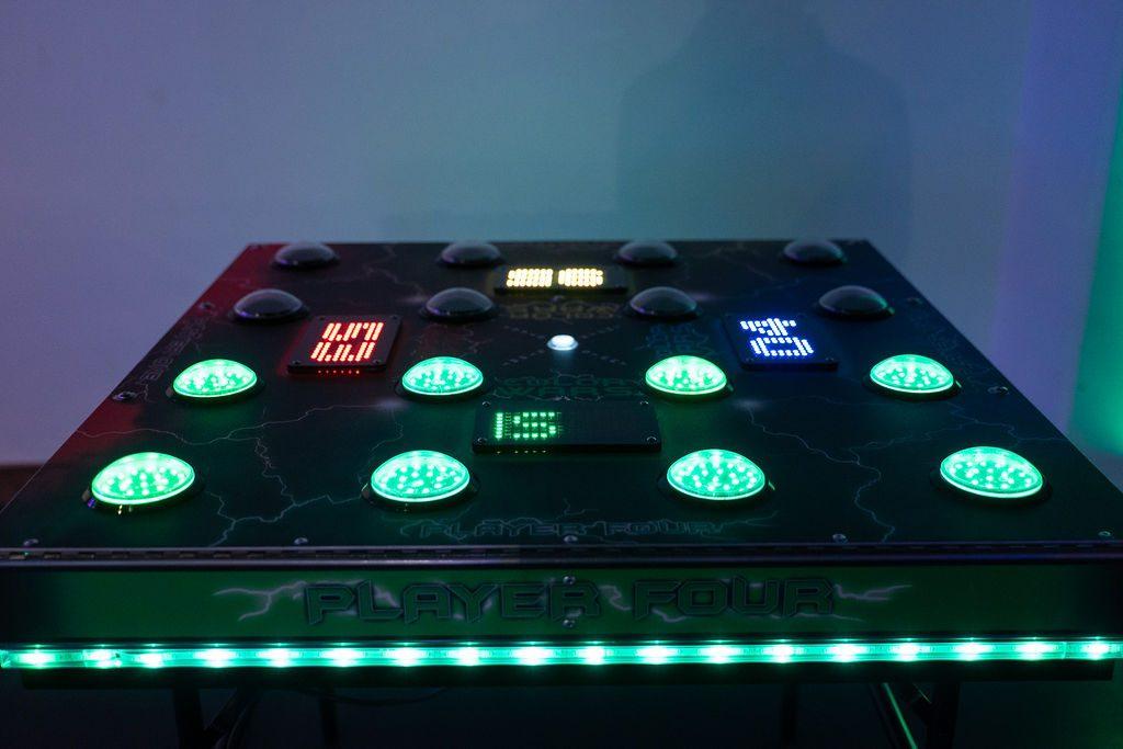 green lights on color wars at ajax dc