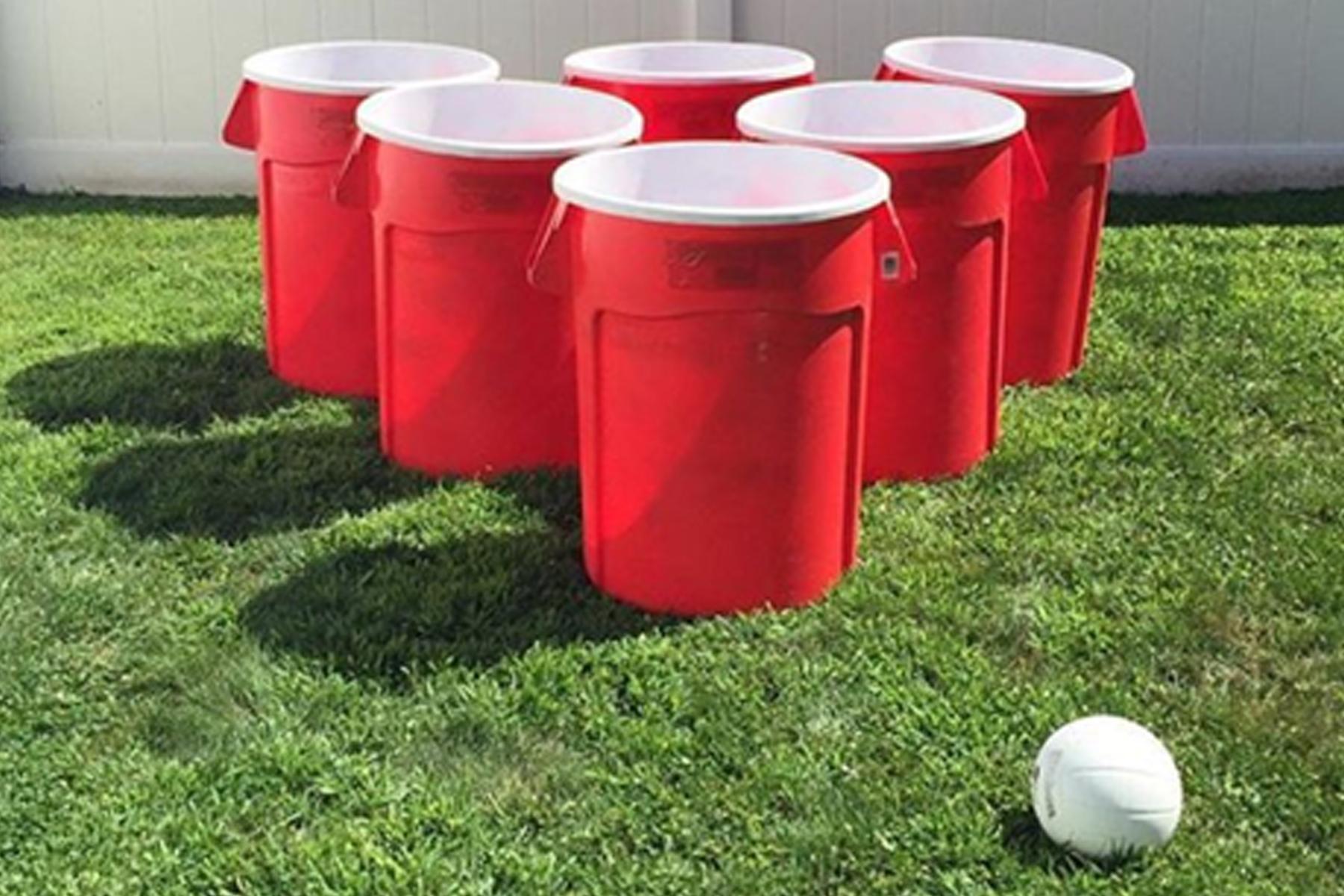 Giant Bucket Pong