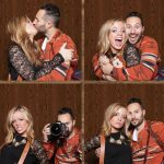 couple in photo booth 4 shot