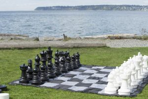 giant chess checkers for event rental