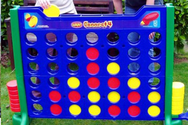 giant connect 4 game event rental portable