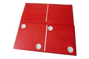 giant dominos red big games for events