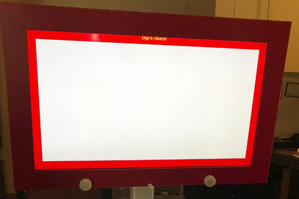 giant etch a sketch game rental