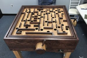 giant labyrinth puzzle game