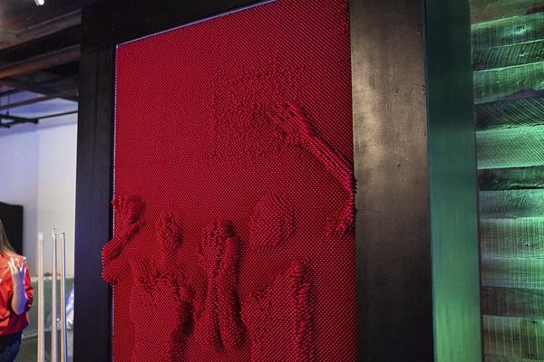 Giant Pin Art
