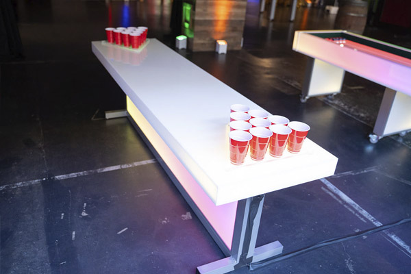 led beer pong glowing table ajax dc