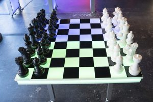 led chess checkers at ajax dc