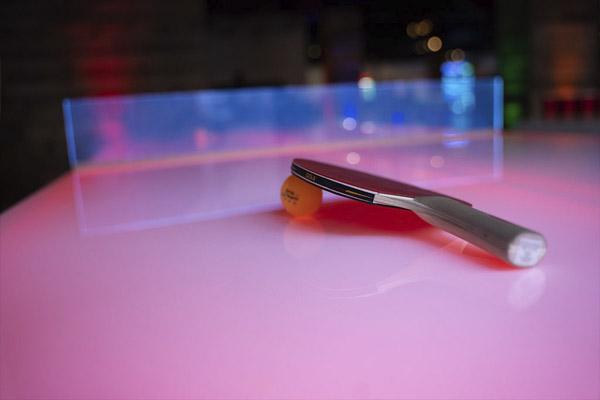 led ping pong paddle at ajax