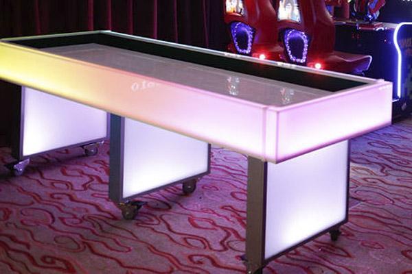 led shuffleboard at mandarin oriental hotel dc