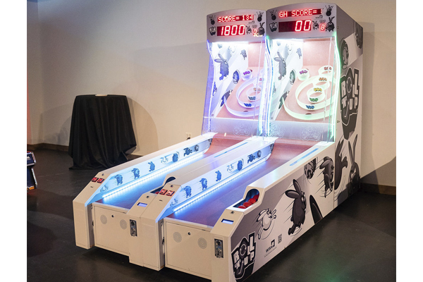 led skeeball two lanes