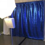 picture perfect photo booth at newseum blue backdrop bat mitzvah