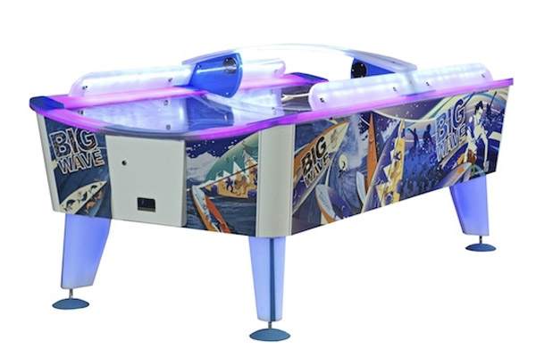 the big wave led air hockey wik games