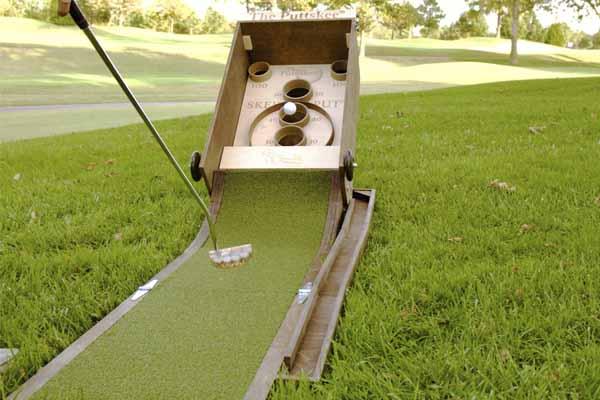 Putt Skee minim golf skeball game