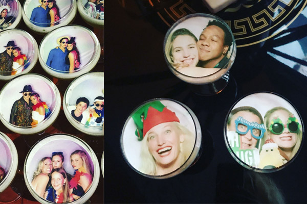 drink yourselfie printed drink toppers for events